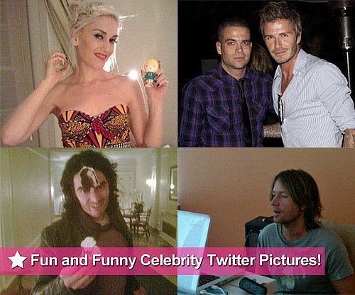 Twitter Pictures of Russell Brand, David Beckham, Gwen Stefani and More