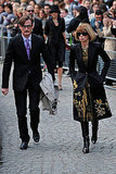 Photos of Sarah Jessica Parker, Anna Wintour, Naomi Campbell at Alexander McQueen Memorial Service