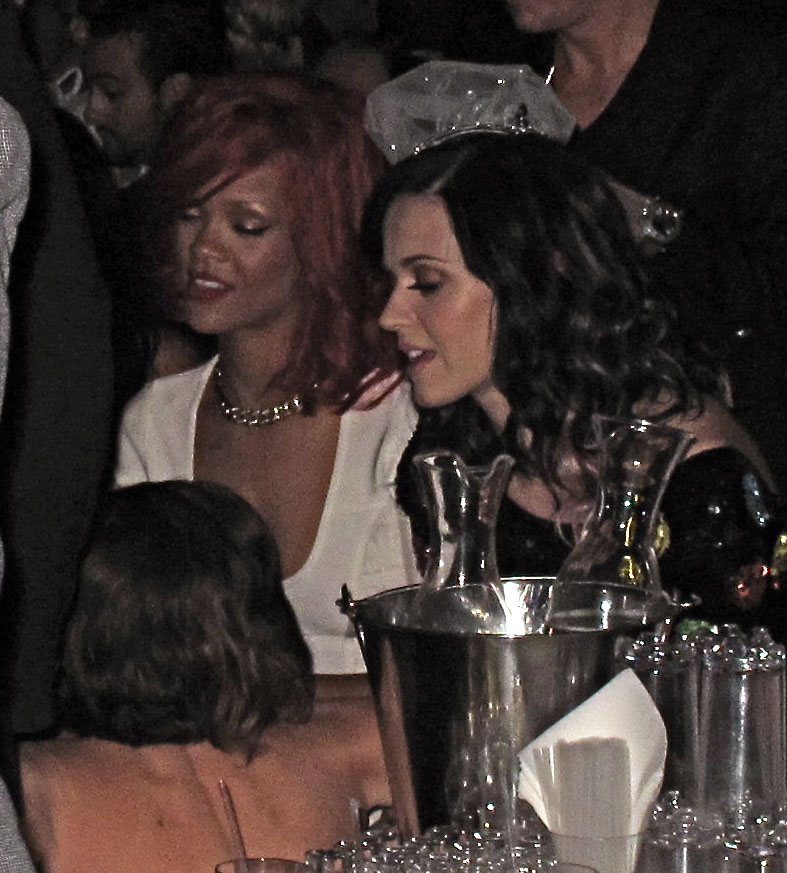 Pictures of Katy and Rihanna