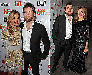 Pictures of Eva Mendes, Sam Worthington and Girlfriend Natalie Mark at Last Night Premiere at Toronto Film Festival