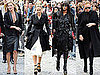 Pictures of Sarah Jessica Parker, Kate Moss, Naomi Campbell, Stella McCartney at Alexander McQueen's Memorial Service