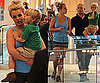 Britney Spears Glee Episode Promo and Pictures of Her Shopping With Sons