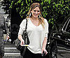 Slide Picture of Hilary Duff Leaving an Appointment in LA