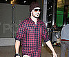 Slide Picture of Zac Efron at LAX