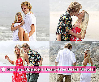 Pictures of Heidi Montag and Clean Shaven Spencer Pratt in Malibu