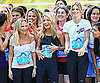 Slide Picture of Kristen Chenoweth, Kelly Ripa, and AnnaLynn McCord at Heel a Thon in NYC