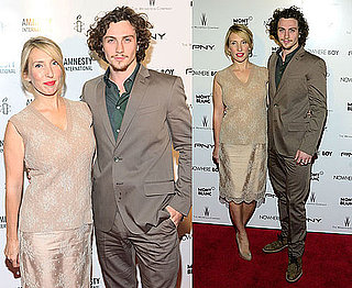 Pictures of Aaron Johnson and Sam Taylor-Wood at Nowhere Boy Premiere in NYC With Yoko Ono, Kristin Scott Thomas and Ethan Hawke