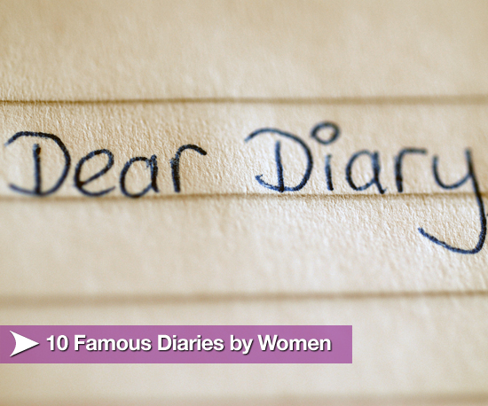 10 Famous Diaries by Women
