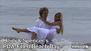 Video of Heidi Montag and Spencer Pratt Kissing at the Beach