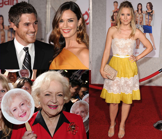Pictures of Kristen Bell and Leading Ladies at You Again Premiere