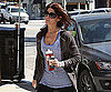 Slide Picture of Ashley Greene Going to LA Gym