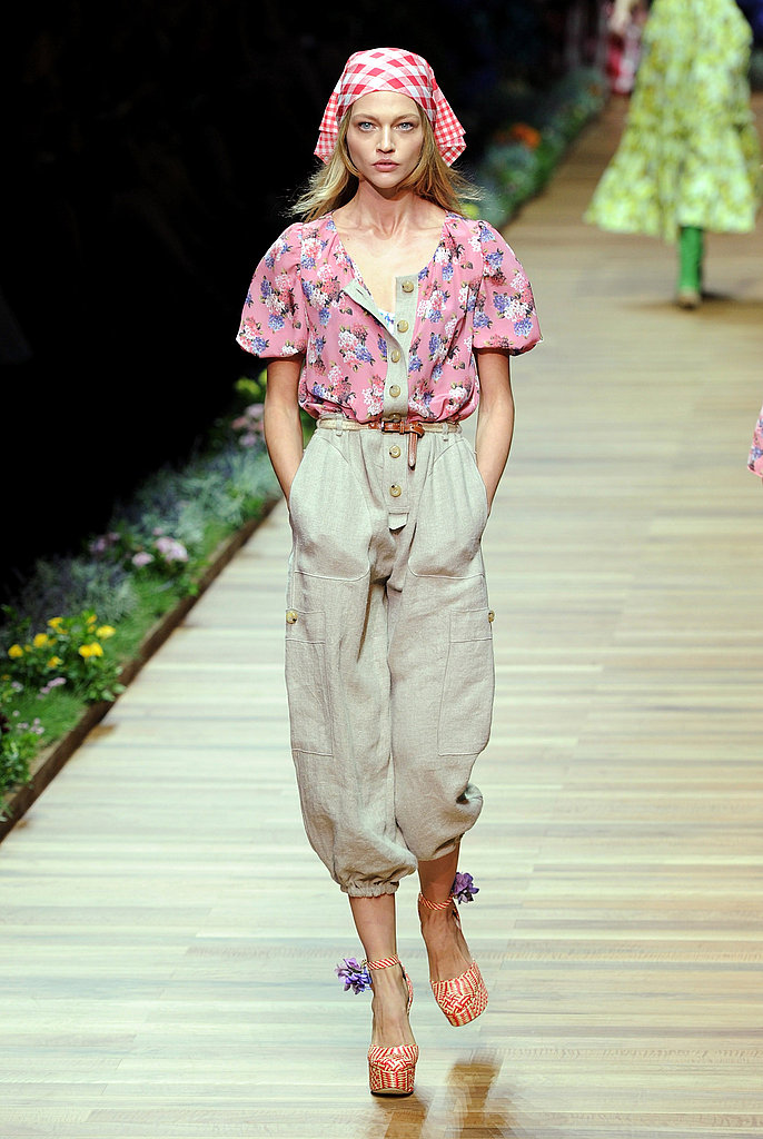 2011 Spring Milan Fashion Week: D&G