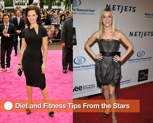 Diet Secrets From Reese Witherspoon, Jennifer Hudson, Carrie Underwood, Jennifer Love Hewitt, and Katherine Heigl