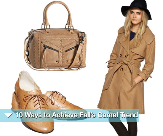 10 Ways to Achieve Fall's Classic Camel Trend
