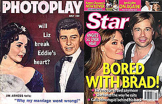 Vintage Tabloids of Elizabeth Taylor and Other Top Stories From the Week