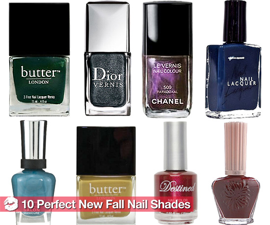 The 10 Hottest New Nail Polishes For Fall