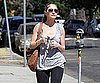 Slide Picture of Rebecca Gayheart Working Out in LA