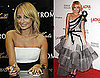 Nicole Richie at Nordstrom Signing and LACMA Event in One-Shouldered Marchesa Gown