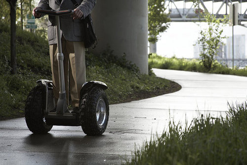Segway Owner Dies on Segway