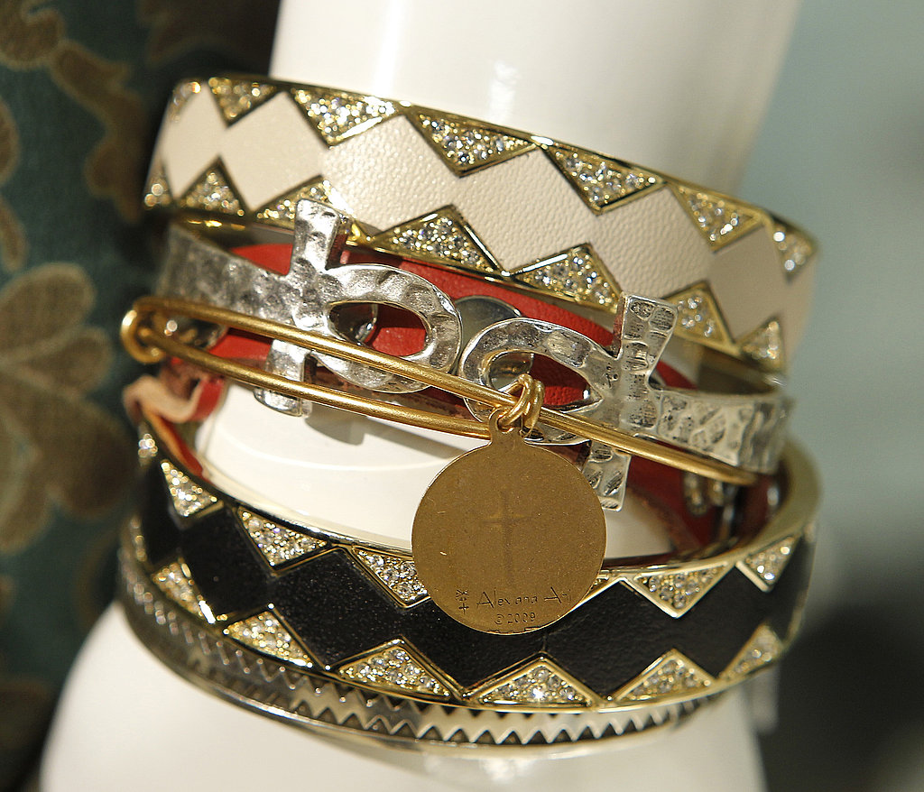 Total arm candy — glittering but understated.
