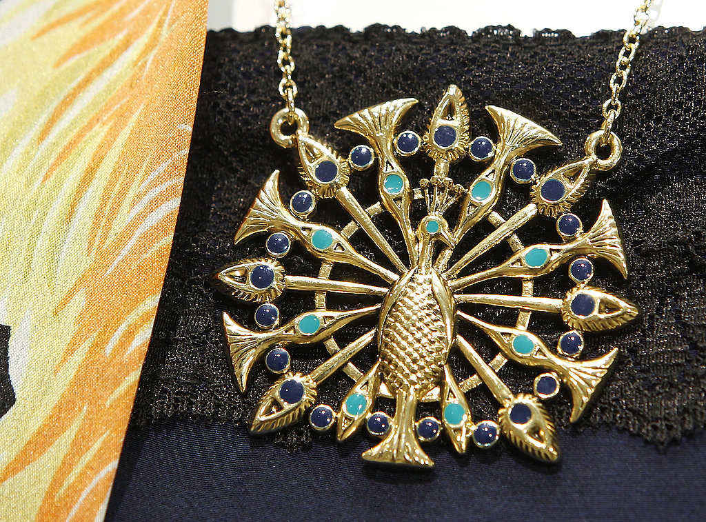 This peacock pendant feels so one-of-a-kind, like a Fab vintage find.