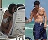 Pictures of Dylan McDermott Shirtless on South Beach in Miami With His Girlfriend