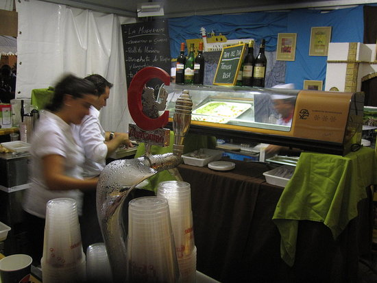 Cervercera la Moderna&#039;s Booth