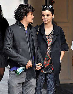 Pictures of Pregnant Miranda Kerr and Orlando Bloom in Paris 2010-09-30 06:00:00