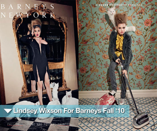 Pictures of Lindsey Wixson For Barneys Fall &#039;10 Catalog