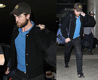 Pictures of Robert Pattinson With Big Beard at LAX Amid Breaking Dawn Casting News