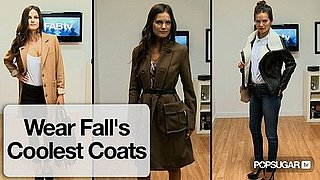 How to Style Shearling Coats or Military-Inspired Coats or Minimalist Coats