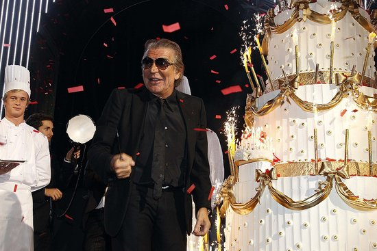Roberto Cavalli Admits He's Not the Party Animal He Used to Be at His $2 Million 40th Anniversary Bash