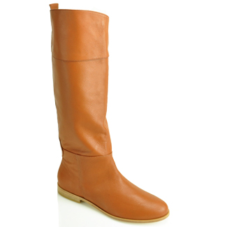 Cynthia Vincent Tessa Cognac Riding Boot ($198, originally $395)