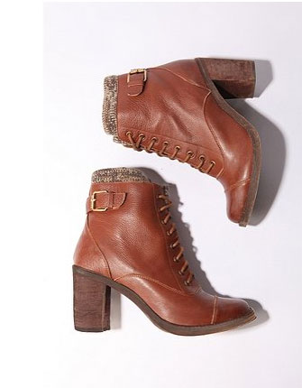 Jeffrey Campbell Lace Up Ankle Boot ($178)