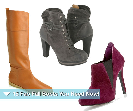 15 Fab Fall Boots You Need Now!