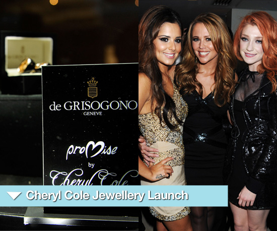 Photos of Cheryl Cole&#039;s Jewellery Launch in London at De Grisogono