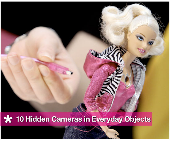 10 Hidden Cameras in Everyday Objects