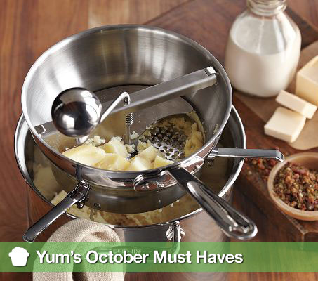 Yum's October Must Haves