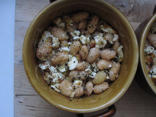 White Beans With Feta and Breadcrumbs Recipe