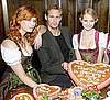 Pictures of Alexander Skarsgard in Munich Celebrating True Blood's Debut on German TV
