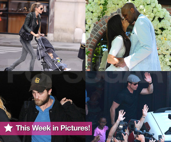 Pictures of Brad Pitt, Gisele Bundchen, Khloe Kardashian, Robert Pattinson, and More!
