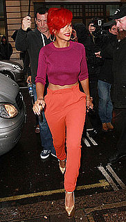 Pictures of Rihanna in London