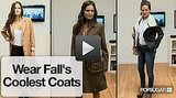 Watch FabSugar TV's Runway to Reality: How to Style Fall Coats.