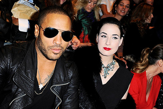 Dita Von Teese attends the Lanvin Ready to Wear Spring/Summer 2011 show during Paris Fashion Week