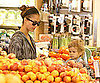 Slide Picture of Jessica Alba and Honor Warren at Whole Foods