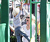 Slide Picture of Naomi Watts at Park With Sons