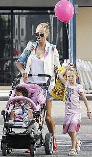 Pictures of Heidi Klum, Leni Samuel, and Lou Samuel in LA