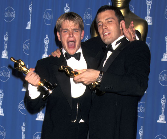 The best friends shared a very memorable acceptance speech during the Oscars in March 1998.