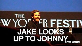 Video of Jake Gyllenhaal With a Beard at the New Yorker Festival 2010-10-04 12:35:02