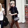Pictures of Kirsten Dunst Getting Lunch in LA